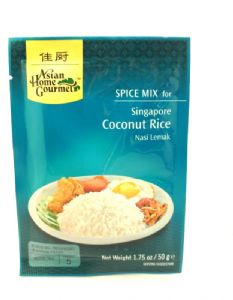 Singapore Coconut Rice [Nasi Lemak] by AHG | Buy Online at the Asian Cookshop